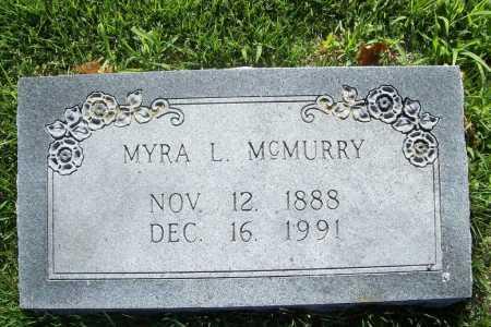 MCMURRY, MYRA L. - Benton County, Arkansas   MYRA L. MCMURRY - Arkansas Gravestone Photos