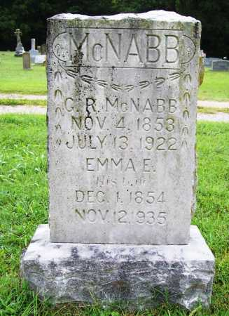 MCNABB, G. R. - Benton County, Arkansas   G. R. MCNABB - Arkansas Gravestone Photos