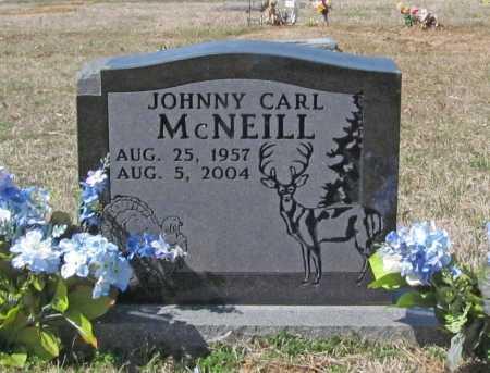 MCNEILL, JOHNNY CARL - Benton County, Arkansas   JOHNNY CARL MCNEILL - Arkansas Gravestone Photos