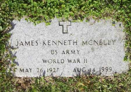 MCNELLY (VETERAN WWII), JAMES KENNETH - Benton County, Arkansas   JAMES KENNETH MCNELLY (VETERAN WWII) - Arkansas Gravestone Photos