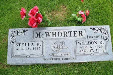 MCWHORTER, WELDON R. (RANDY) - Benton County, Arkansas | WELDON R. (RANDY) MCWHORTER - Arkansas Gravestone Photos