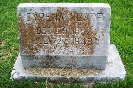 MEADE, CYRENA - Benton County, Arkansas   CYRENA MEADE - Arkansas Gravestone Photos