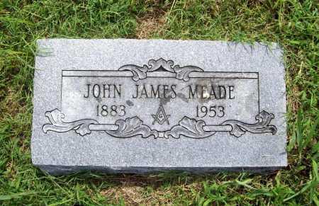 MEADE, JOHN JAMES - Benton County, Arkansas | JOHN JAMES MEADE - Arkansas Gravestone Photos