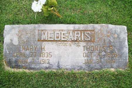 MEDEARIS, MARY HELEN - Benton County, Arkansas   MARY HELEN MEDEARIS - Arkansas Gravestone Photos