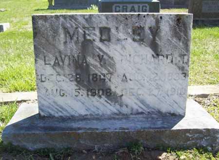 MEDLEY, LAVINA V. - Benton County, Arkansas | LAVINA V. MEDLEY - Arkansas Gravestone Photos