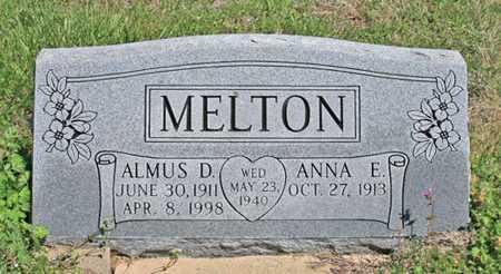 MELTON, ALMUS D - Benton County, Arkansas | ALMUS D MELTON - Arkansas Gravestone Photos