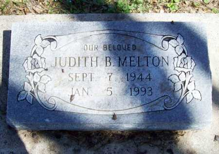 MELTON, JUDITH B. - Benton County, Arkansas   JUDITH B. MELTON - Arkansas Gravestone Photos