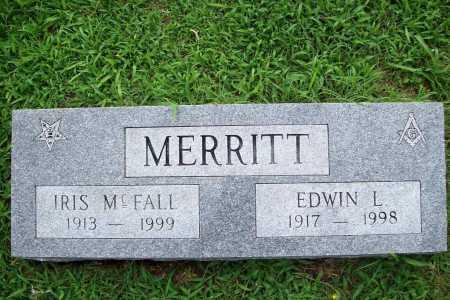 MERRITT, EDWIN L. - Benton County, Arkansas | EDWIN L. MERRITT - Arkansas Gravestone Photos