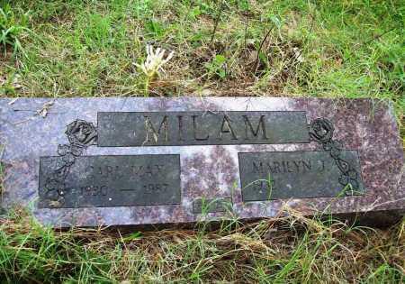MILAM, CARL MAX - Benton County, Arkansas | CARL MAX MILAM - Arkansas Gravestone Photos