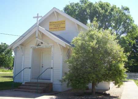 *MILLER CHURCH BUILDING,  - Benton County, Arkansas |  *MILLER CHURCH BUILDING - Arkansas Gravestone Photos
