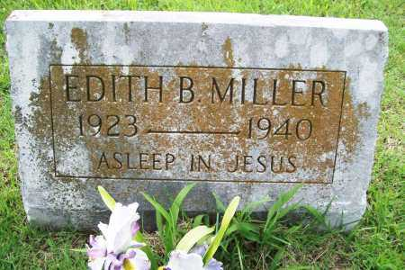 MILLER, EDITH B. - Benton County, Arkansas | EDITH B. MILLER - Arkansas Gravestone Photos