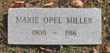 MILLER, MARIE OPEL - Benton County, Arkansas | MARIE OPEL MILLER - Arkansas Gravestone Photos