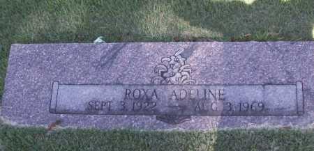 MILLER, ROXA ADELINE - Benton County, Arkansas | ROXA ADELINE MILLER - Arkansas Gravestone Photos