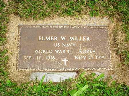 MILLER (VETERAN 2 WARS), ELMER W. - Benton County, Arkansas | ELMER W. MILLER (VETERAN 2 WARS) - Arkansas Gravestone Photos