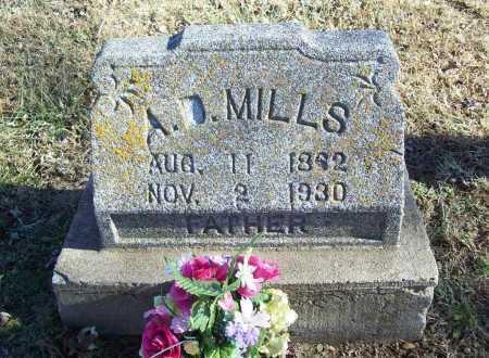 MILLS, A D - Benton County, Arkansas | A D MILLS - Arkansas Gravestone Photos