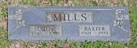 MILLS, LORENE - Benton County, Arkansas | LORENE MILLS - Arkansas Gravestone Photos