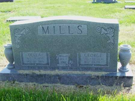 MILLS, GEORGE - Benton County, Arkansas | GEORGE MILLS - Arkansas Gravestone Photos