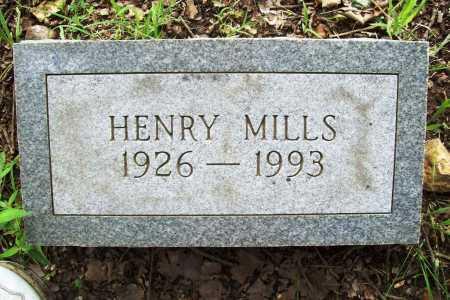 MILLS, HENRY - Benton County, Arkansas | HENRY MILLS - Arkansas Gravestone Photos