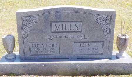 FORD MILLS, NORA MAE - Benton County, Arkansas | NORA MAE FORD MILLS - Arkansas Gravestone Photos
