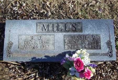 MILLS, JESSIE V. - Benton County, Arkansas   JESSIE V. MILLS - Arkansas Gravestone Photos