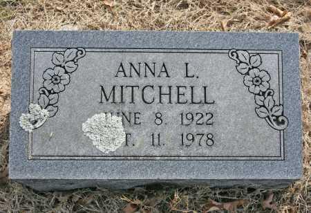MITCHELL, ANNA L. - Benton County, Arkansas   ANNA L. MITCHELL - Arkansas Gravestone Photos