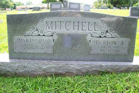 MITCHELL, BURTON A. - Benton County, Arkansas | BURTON A. MITCHELL - Arkansas Gravestone Photos