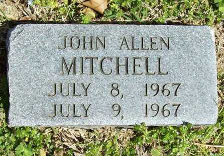 MITCHELL, JOHN ALLEN - Benton County, Arkansas   JOHN ALLEN MITCHELL - Arkansas Gravestone Photos