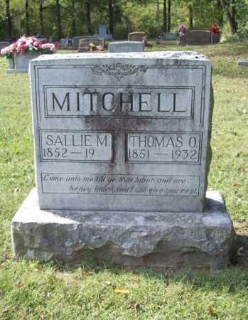 MITCHELL, SALLIE M. - Benton County, Arkansas | SALLIE M. MITCHELL - Arkansas Gravestone Photos