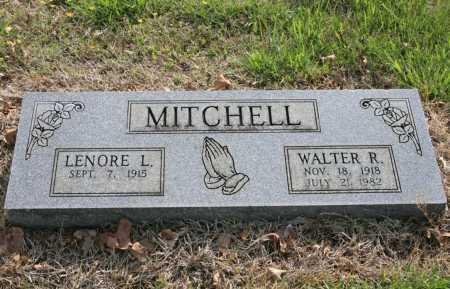 MITCHELL, WALTER R. - Benton County, Arkansas | WALTER R. MITCHELL - Arkansas Gravestone Photos