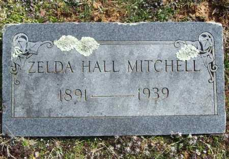 HALL MITCHELL, ZELDA - Benton County, Arkansas | ZELDA HALL MITCHELL - Arkansas Gravestone Photos