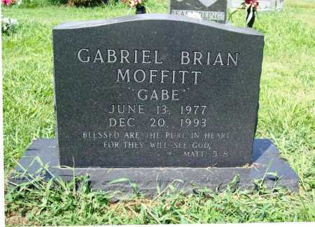 "MOFFITT, GABRIEL BRIAN ""GABE"" - Benton County, Arkansas   GABRIEL BRIAN ""GABE"" MOFFITT - Arkansas Gravestone Photos"