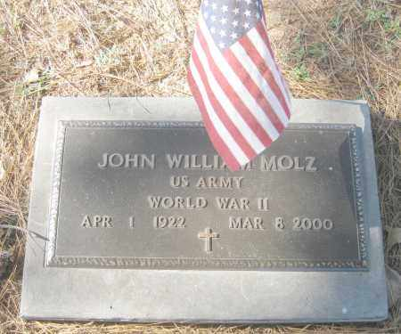 MOLZ (VETERAN WWII), JOHN WILLIAM - Benton County, Arkansas | JOHN WILLIAM MOLZ (VETERAN WWII) - Arkansas Gravestone Photos