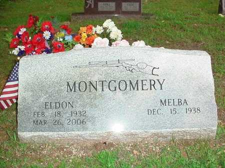 MONTGOMERY, ELDON - Benton County, Arkansas   ELDON MONTGOMERY - Arkansas Gravestone Photos