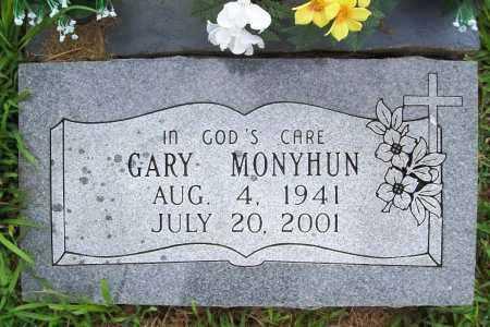 MONYHUN, GARY - Benton County, Arkansas | GARY MONYHUN - Arkansas Gravestone Photos