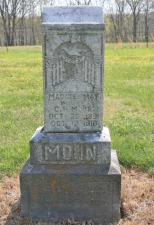 DYE MOON, MAGGIE MAY - Benton County, Arkansas   MAGGIE MAY DYE MOON - Arkansas Gravestone Photos