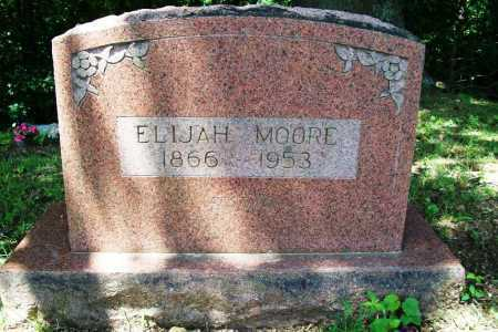 MOORE, ELIJAH - Benton County, Arkansas | ELIJAH MOORE - Arkansas Gravestone Photos
