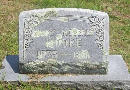 MOORE, MARY - Benton County, Arkansas | MARY MOORE - Arkansas Gravestone Photos