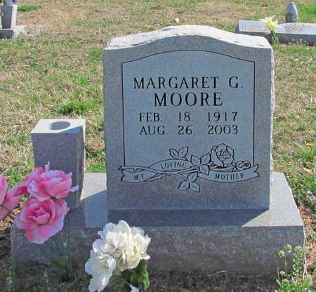 MOORE, MARGARET G - Benton County, Arkansas | MARGARET G MOORE - Arkansas Gravestone Photos