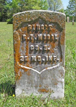 MOORE (VETERAN UNION), B F - Benton County, Arkansas | B F MOORE (VETERAN UNION) - Arkansas Gravestone Photos
