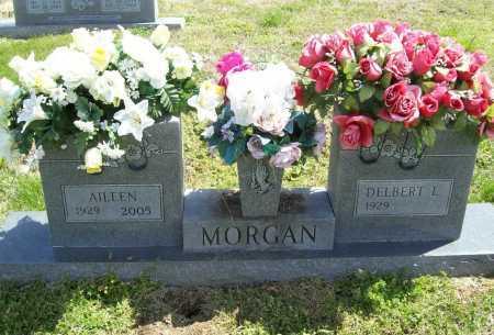 DAVIS MORGAN, AILEEN - Benton County, Arkansas | AILEEN DAVIS MORGAN - Arkansas Gravestone Photos