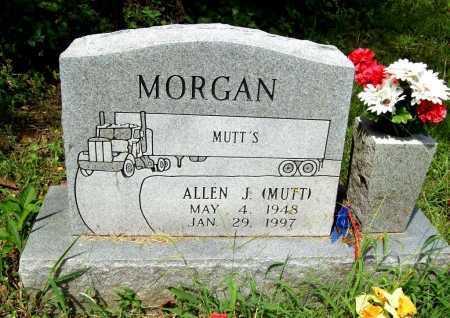 MORGAN, ALLEN J. (MUTT) - Benton County, Arkansas | ALLEN J. (MUTT) MORGAN - Arkansas Gravestone Photos