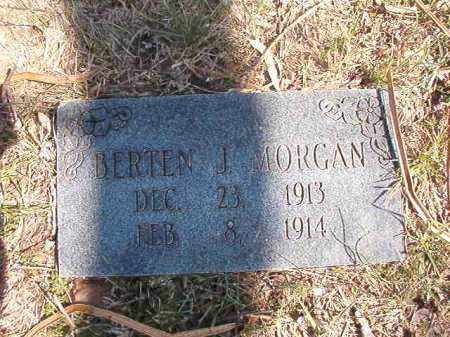 MORGAN, BERTEN J. - Benton County, Arkansas | BERTEN J. MORGAN - Arkansas Gravestone Photos