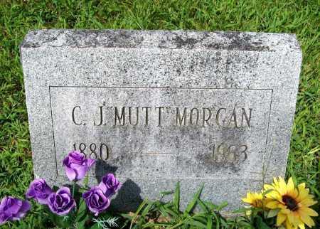 """MORGAN, C. J. """"MUTT"""" - Benton County, Arkansas   C. J. """"MUTT"""" MORGAN - Arkansas Gravestone Photos"""