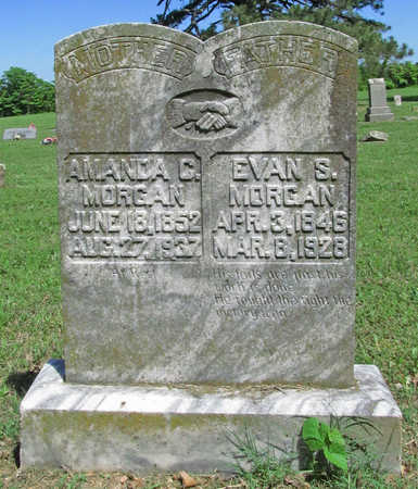 MORGAN, AMANDA C - Benton County, Arkansas | AMANDA C MORGAN - Arkansas Gravestone Photos