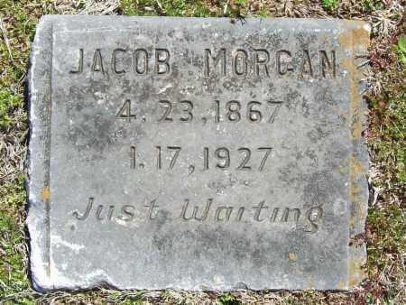 MORGAN, JACOB B. (ORIG) - Benton County, Arkansas   JACOB B. (ORIG) MORGAN - Arkansas Gravestone Photos