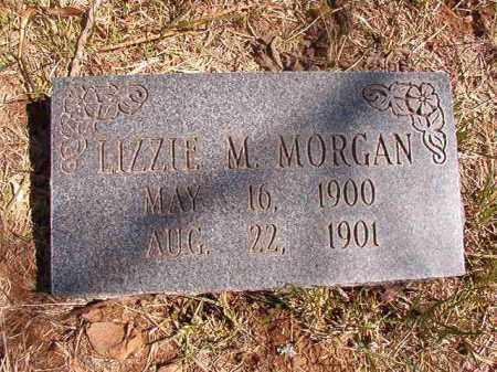 MORGAN, LIZZIE M. - Benton County, Arkansas   LIZZIE M. MORGAN - Arkansas Gravestone Photos