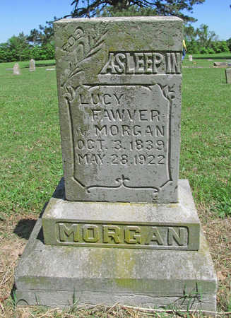 MORGAN FAWVER, LUCY - Benton County, Arkansas   LUCY MORGAN FAWVER - Arkansas Gravestone Photos