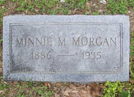 MORGAN, MINNIE M. - Benton County, Arkansas | MINNIE M. MORGAN - Arkansas Gravestone Photos