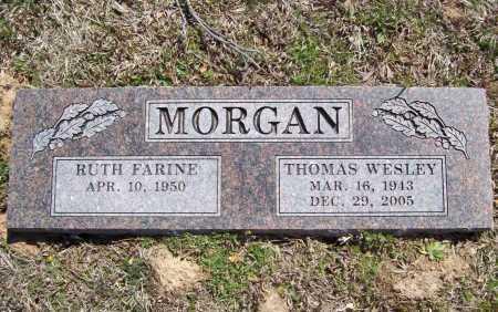 MORGAN, THOMAS WESLEY - Benton County, Arkansas   THOMAS WESLEY MORGAN - Arkansas Gravestone Photos