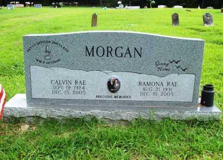 MORGAN (VETERAN WWII), CALVIN RAE - Benton County, Arkansas | CALVIN RAE MORGAN (VETERAN WWII) - Arkansas Gravestone Photos